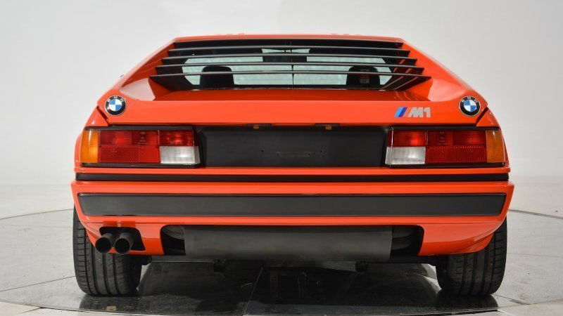 Inka Orange 1981 BMW M1 for sale on eBay