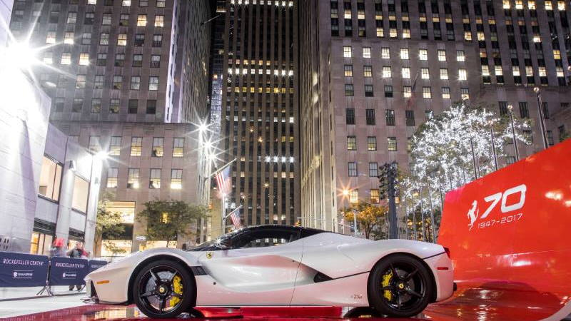 Ferrari LaFerrari in New York City