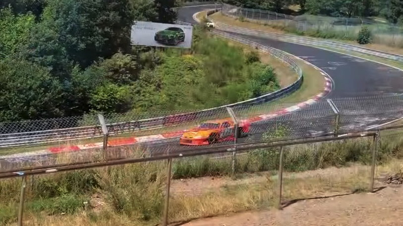 Late model Stock Car raced around the Nürburgring