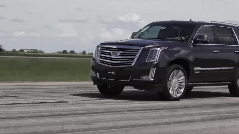 Hennessey builds an 842-horsepower Cadillac Escalade