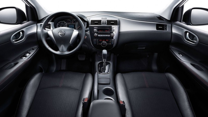 2012 Nissan Tiida hatchback, launched at Auto Shanghai 2011