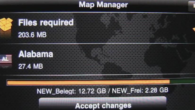 Navigon 2.0 update for iOS