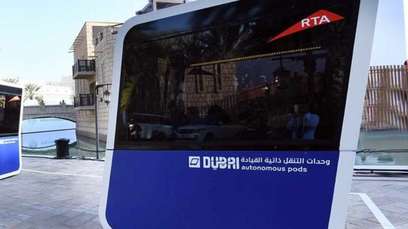 Dubai Roads and Transit Authority to test Next Future Transportation NX1 autonomous electric pods