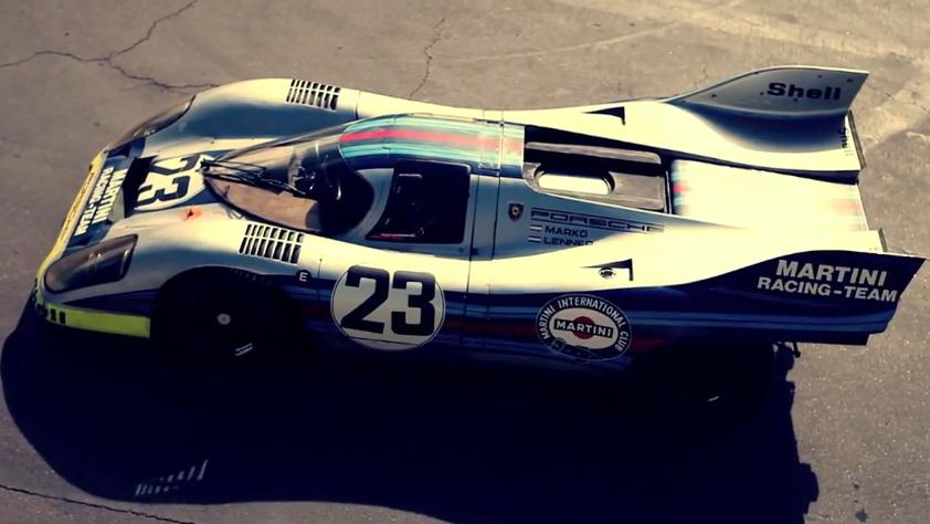 The fearsome Porsche 917K