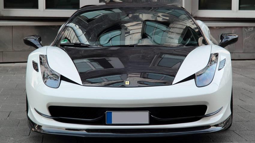 Anderson Ferrari 458 Italia with carbon fiber package