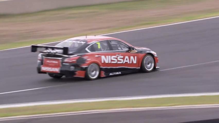 Nissan's new Altima, in V8 Supercar trim