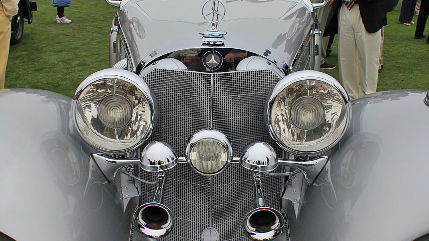 1936 Mercedes-Benz 500K Special Roadster