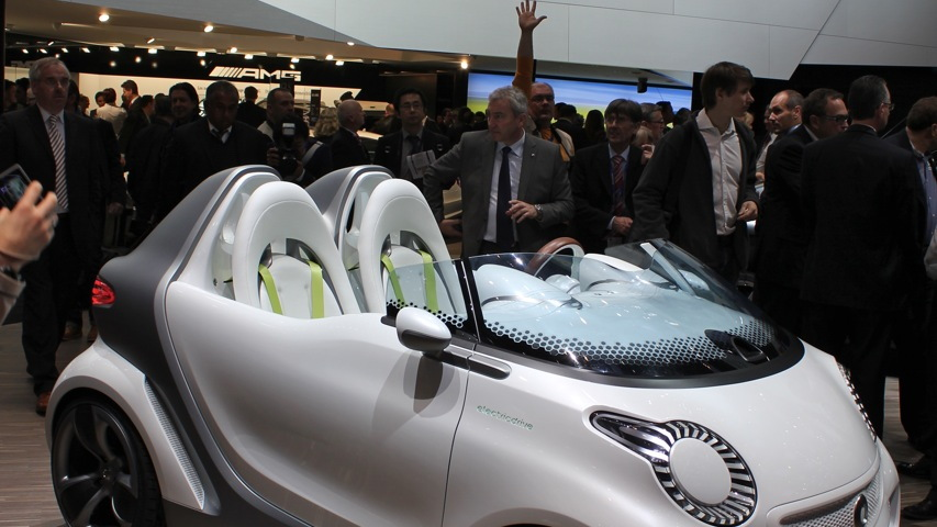 2011 Smart Forspeed Concept live photos