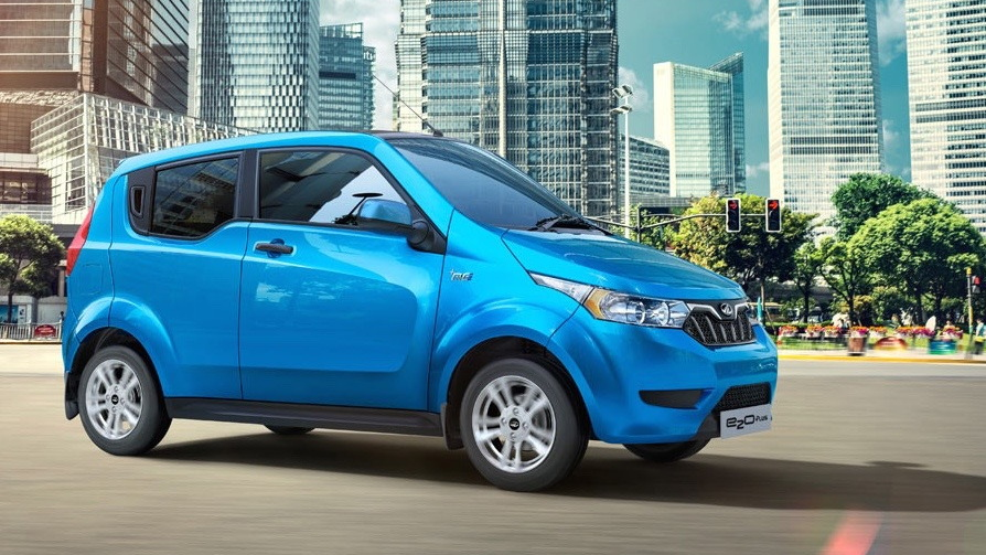 India's new four-door Mahindra Reva e2o electric car to be exported