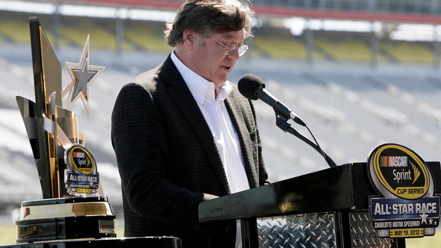 Robin Pemberton explains the Sprint All-Star changes at Charlotte Motor Speedway - NASCAR photo