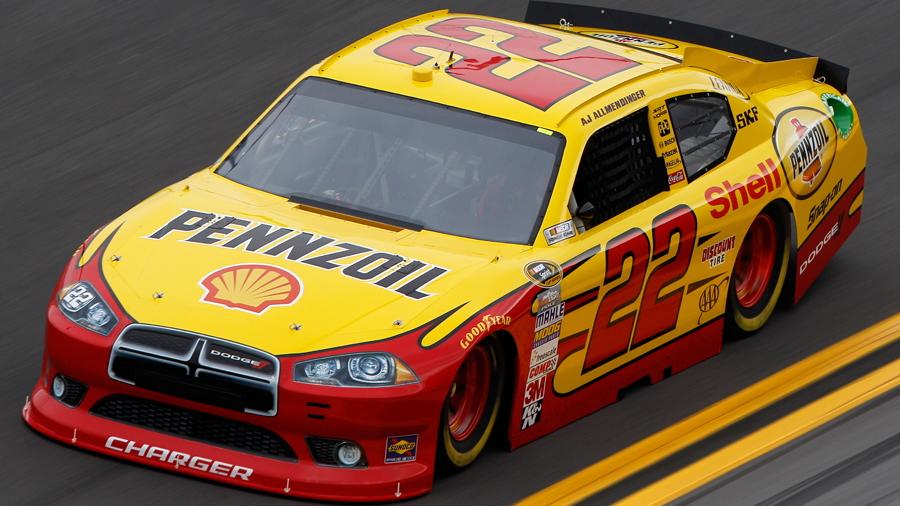 No. 22 Shell/Pennzoil Dodge - NASCAR photo