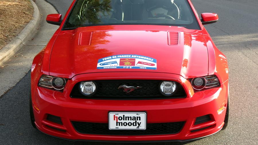 2014 Holman - Moody Tour de France Tribute Mustang - image: Holman - Moody