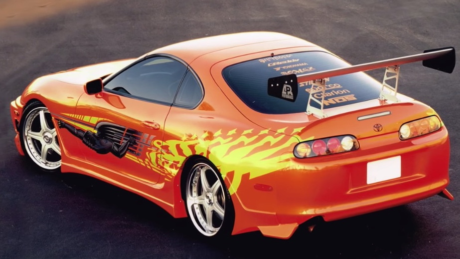 Toyota Supra from 'The Fast and the Furious'