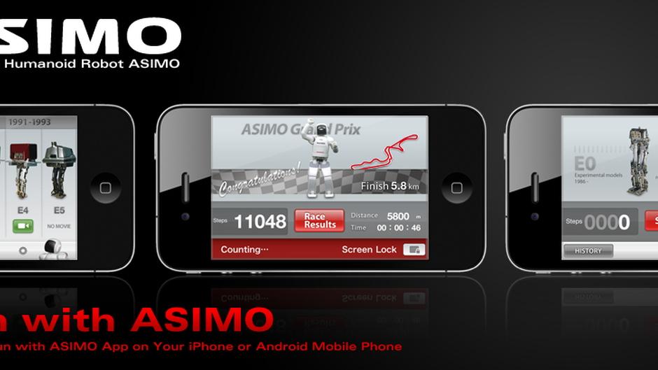 Run with ASIMO app