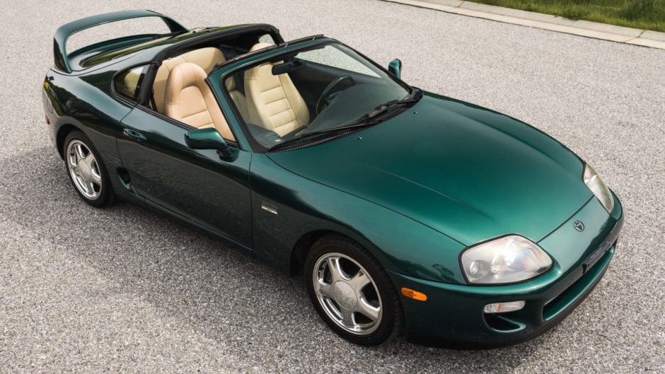 1997 Toyota Supra Turbo for sale on Bring a Trailer