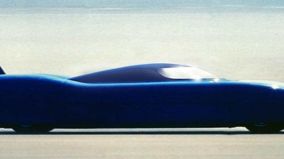 Electric Bluebird Land Speed Record Car