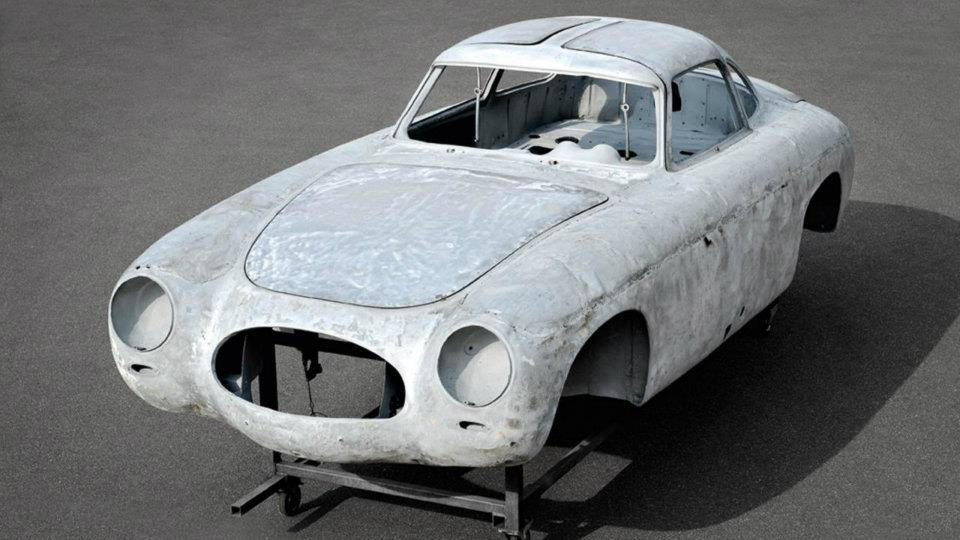 The oldest SL: a 1952 Mecedes 300 SL, chassis number 002