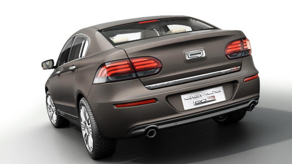 Qoros GQ3 sedan launches at the 2013 Geneva Motor Show