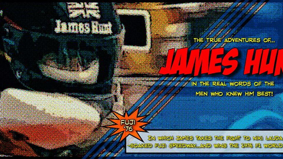 Vodafone McLaren Mercedes releases James Hunt comic strip