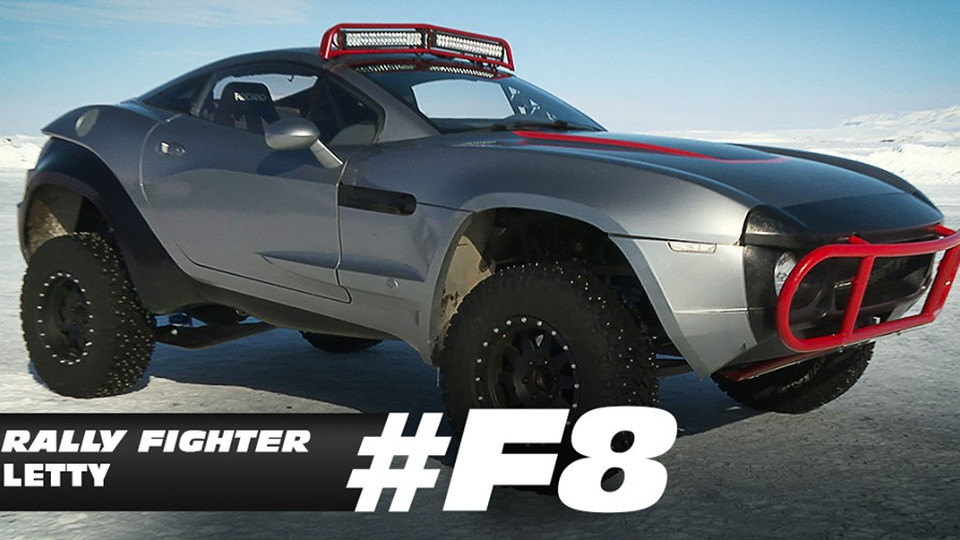 Fast 8 Letty drives a Local Motors Rally Fighter