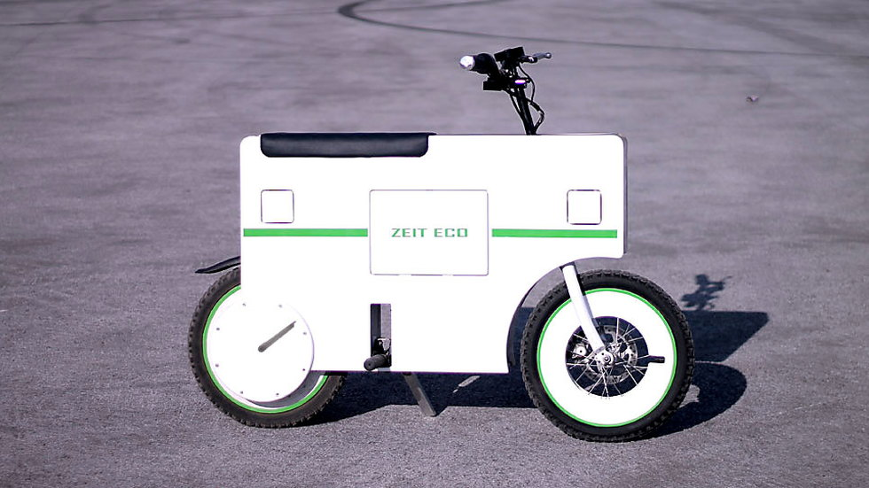 Zeit Eco electric scooter (Images: Zeit)
