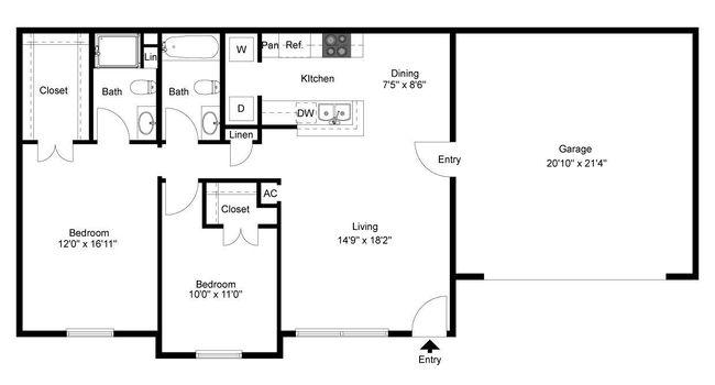 Braunfels Place Apartments - 20 Reviews   New Braunfels, TX