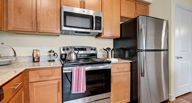 Elements at Briargate Dishwasher & Fridge