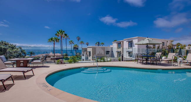 Take in the amazing ocean views while hanging out by the pool
