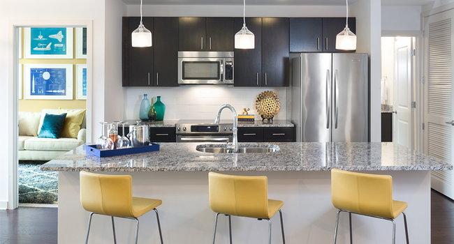 Upgraded KitchenAid® stainless steel appliances
