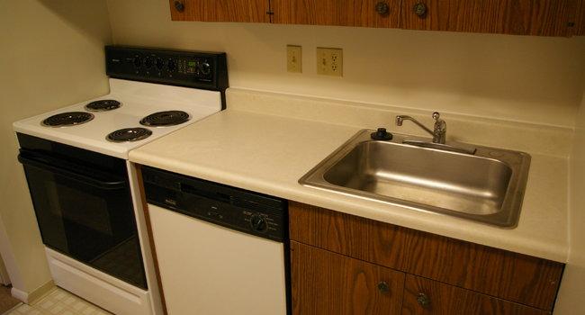 Dinky kitchen