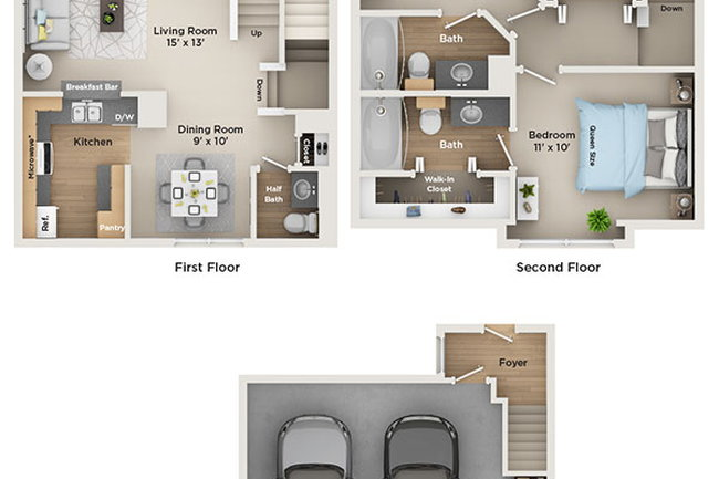 5fe8a647d9 Floor Plan photo of Fairlane Town Center in Dearborn