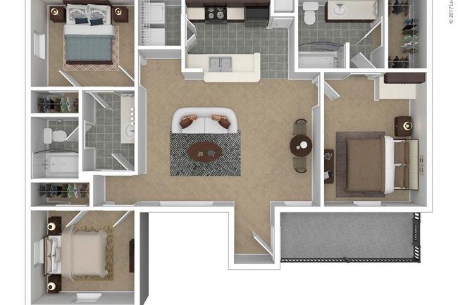 The Flats At Westover Hills By Cortland 83 Reviews San