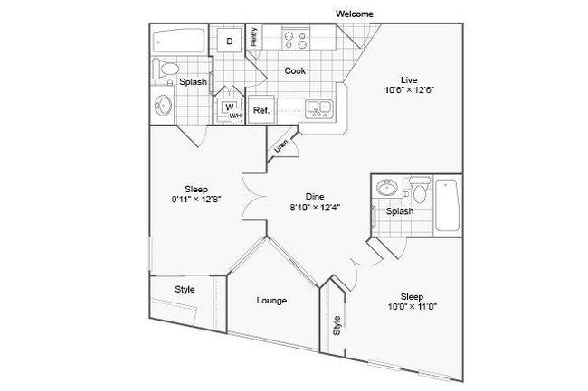 the urban apartment homes 154 reviews phoenix az apartments for  floor plan photo of the urban apartment homes in phoenix az